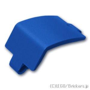 テクニック パネル 3 x 6 x 3 カーブ:[Blue / ブルー]