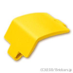 テクニック パネル 3 x 6 x 3 カーブ:[Yellow / イエロー]