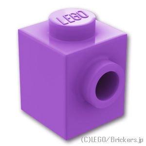 ブロック 1 x 1 - 1面スタッド:[Md,Lav...