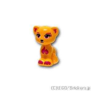猫 - マゼンタパターン(パンテーラ):[Bt,Lt Orange / ブライトライトオレンジ]