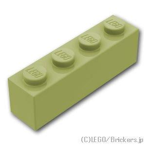 ブロック 1 x 4:[Olive Green / オリーブグリーン]