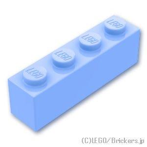 ブロック 1 x 4:[Bt,Lt Blue / ブライトライトブルー]
