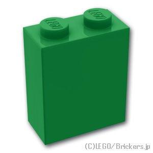 ブロック 1 x 2 x 2:[Green / グリーン]