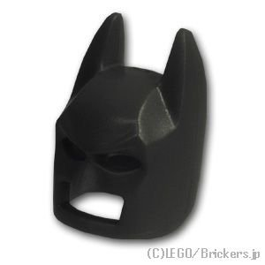 バットマンマスク タイプ2:[Black / ブラック]