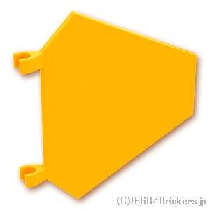 フラッグ 5 x 6 六角形:[Bt,Lt Orange / ブライトライトオレンジ]