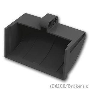 テクニック ショベル バケット 5 x 7 x 4 1/2 - クラムシェル型:[Black / ブラック]