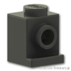 ブロック 1 x 1 - ヘッドライト:[Black / ブラック]