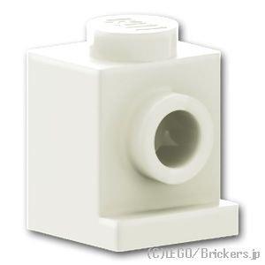 ブロック 1 x 1 - ヘッドライト:[White / ホワイト]