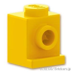 ブロック 1 x 1 - ヘッドライト:[Yellow / イエロー]