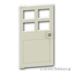ドア 1 x 4 x 6:[White / ホワイト]