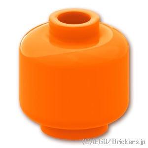 ミニフィグ プレーンヘッド:[Orange / オレンジ]