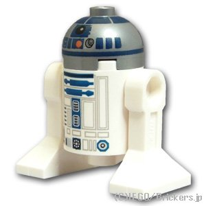 R2-D2 フラットシルバーヘッド(75038) 【SW527】