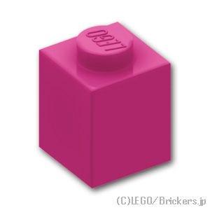 ブロック 1 x 1:[Magenta / マゼンタ]