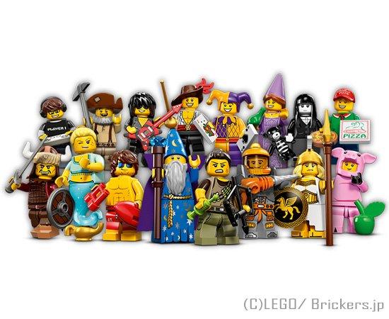 LEGO ミニフィギュアシリーズ12 - フルコンプ
