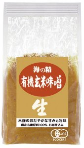 海の精 有機玄米味噌 1kg