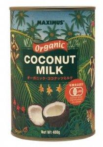 マキシマス オーガニックココナッツミルク 400g