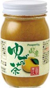久保養蜂園 国産ゆず茶 520g