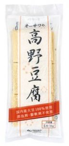オーサワの高野豆腐 6枚