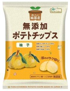 ノースカラーズ 純国産ポテトチップス柚子 53g
