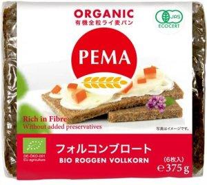 PEMA 有機全粒ライ麦パン(フォルコンブロート) 7枚入り