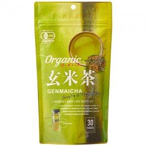 tokyo tea trading オーガニック玄米茶 30包