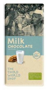 第3世界ショップ ミルクチョコレート 100g <オーガニック 有機栽培><フェアトレード><添加物不使用><冬季限定>