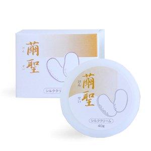 シルクボディクリーム「繭聖(けんせい)50」 40g