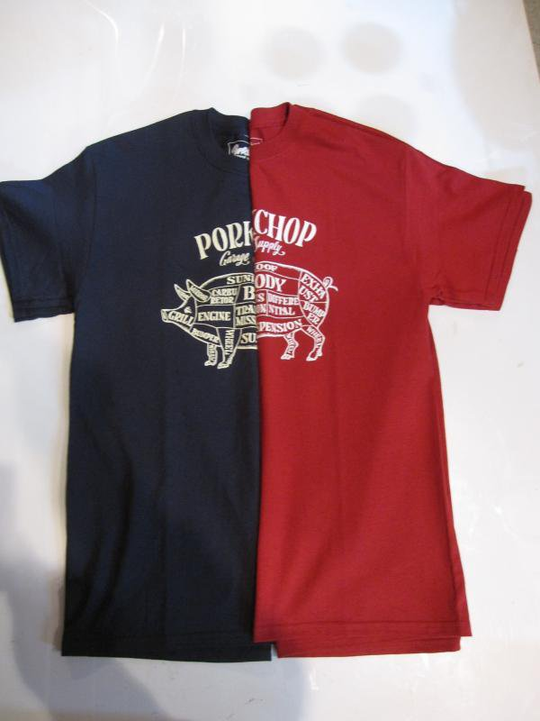 【PORKCHOP GARAGE SUPPLY】PORK Front Tee
