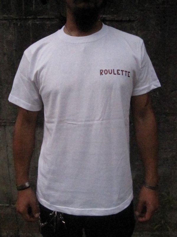 【HONEY WORKS】19th Anniv. ROULETTE FRISCO Tee by SCUMBOY TATTOO GO 2