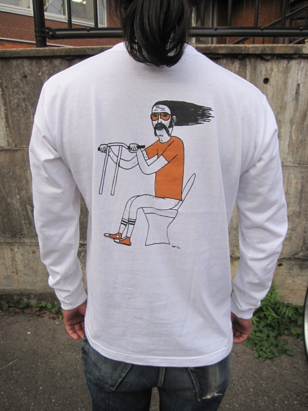 【HONEY WORKS】19th Anniv. ROULETTE FRISCO L/S Tee by SCUMBOY TATTOO GO