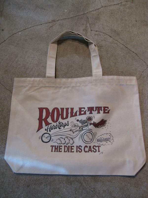 【Roulette】20th anniv. R&B toto bag by Fusty works