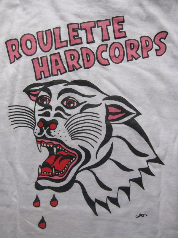 【ROULETTE】 PANTHER L/S TEE by SCUMBOY TATTOO GO
