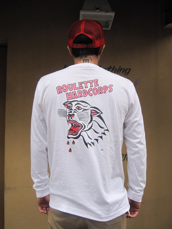 【ROULETTE】 PANTHER L/S TEE by SCUMBOY TATTOO GO   2