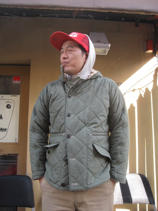 【G&F WORKERS】REVERSIBLE JACKET 2