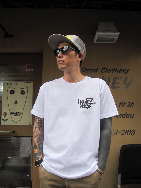【HONEY WORKS】PORKCHOP×HONEY 21th anniv. Tee