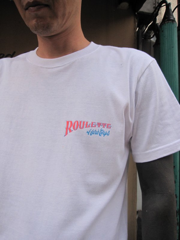 【Roulette】R&B Tee Neon Ver. by Fusty works (WHITE) 3