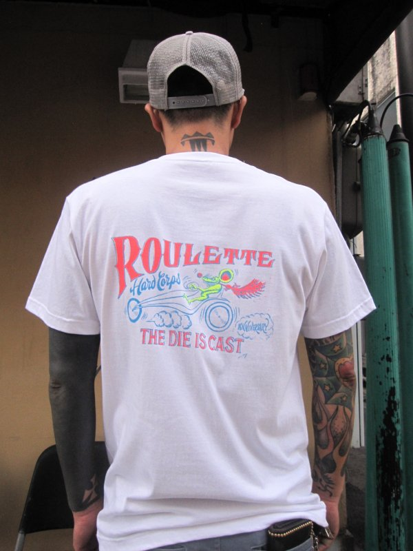 【Roulette】R&B Tee Neon Ver. by Fusty works (WHITE) 4