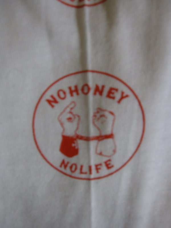 【HONEY WORKS】N.H.N.L L/S Tee WHITE 4