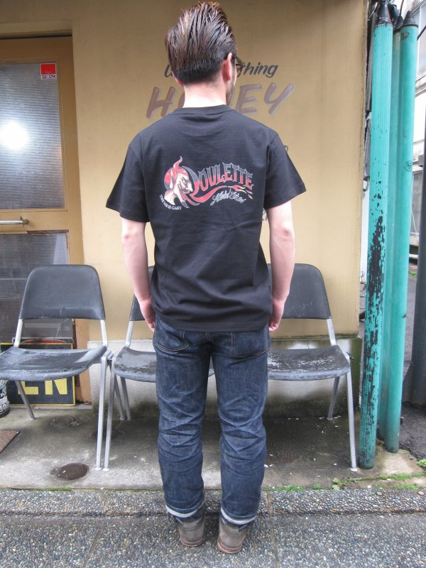 【Roulette】22th anniv. DEVIL Tee by Fusty works / BLACK 2