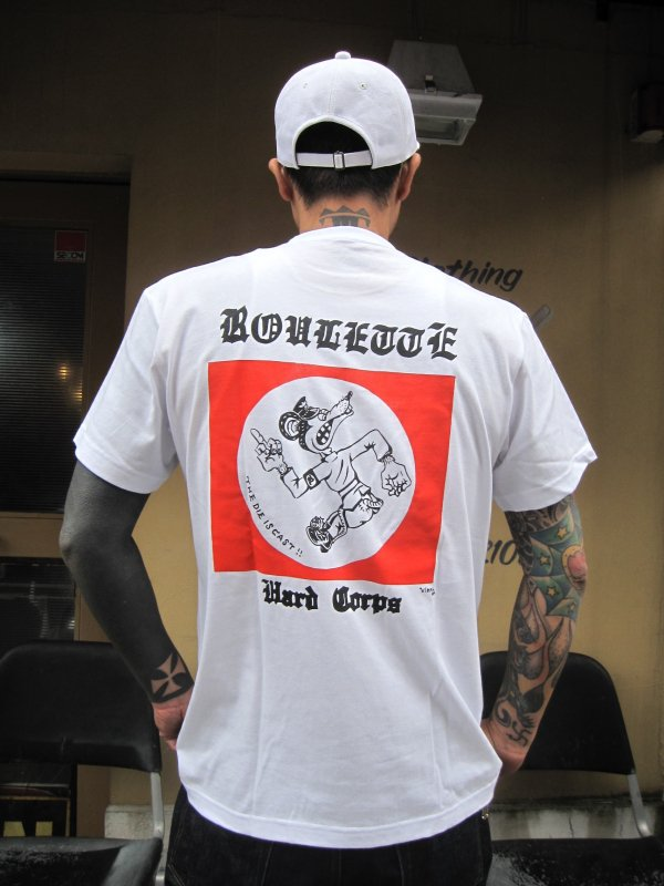 【ROULETTE】 卍 RATS TEE by vinny / WHITE