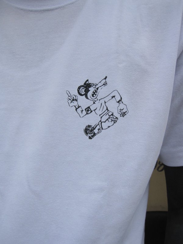 【ROULETTE】 卍 RATS TEE by vinny / WHITE 4