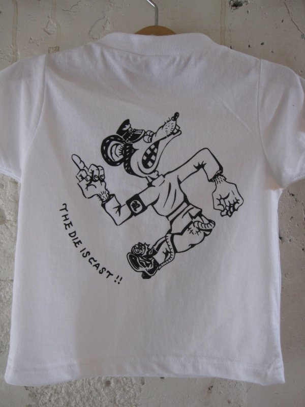【ROULETTE】 卍 RATS KIDS TEE by vinny/WHITE