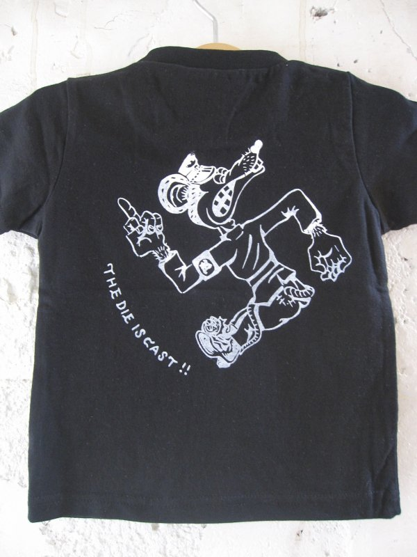 【ROULETTE】 卍 RATS KIDS TEE by vinny/BLACK
