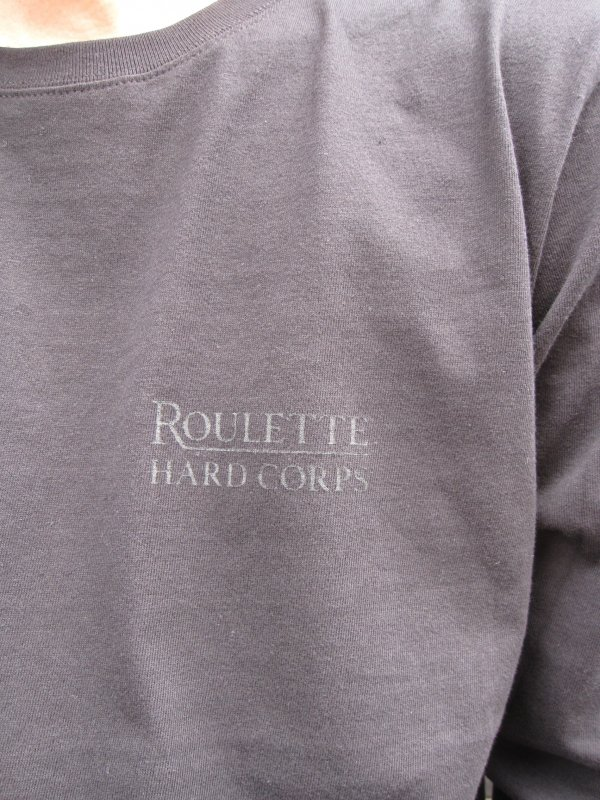 【Roulette】22th anniv. DEVIL L/S Tee by Fusty works / BLACK 3