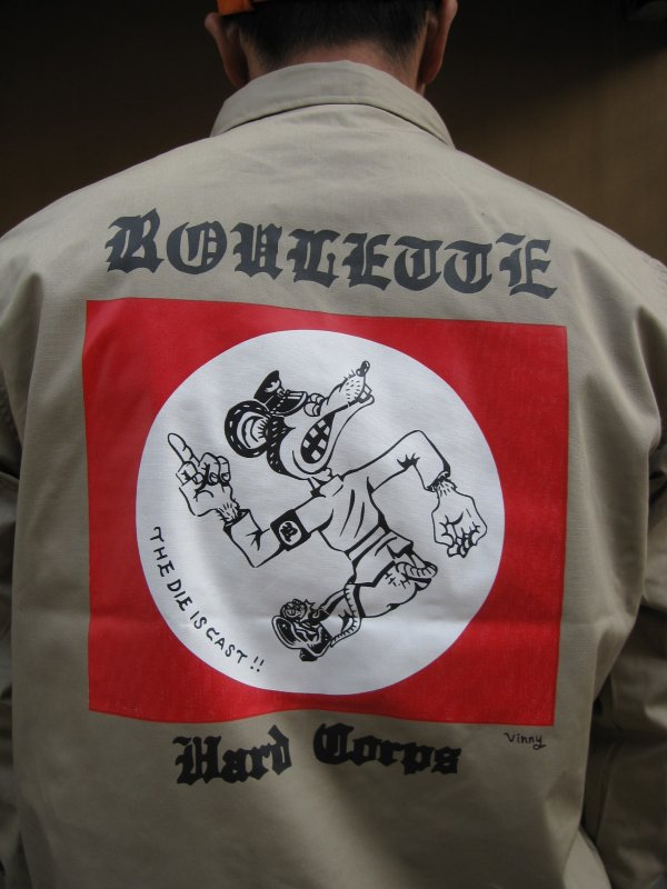 【ROULETTE】 卍 RATS COACH JACKET by vinny / BEIGE