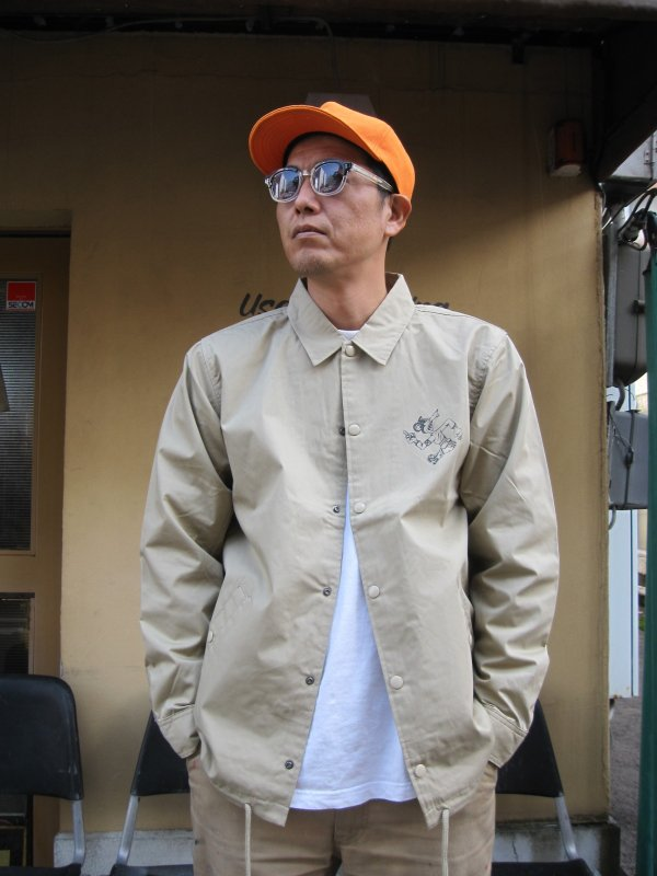 【ROULETTE】 卍 RATS COACH JACKET by vinny / BEIGE 2