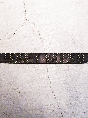 【HONEY WORKS】Studs Leather Belt 2