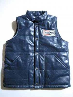 【Roulette】CHAMPION? leather Vest (予約商品)