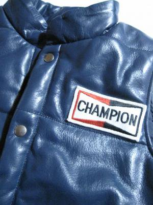 【Roulette】CHAMPION? leather Vest (予約商品) 3