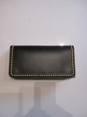 【HONEY WORKS】NEW Studs Leather Wallet 1